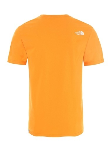 The North Face Easy Erkek T-Shirt Turuncu Oranj